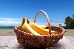 Bananen Korb